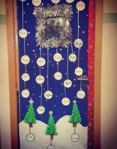 Christmas Door Ideas For Preschool Preschool And