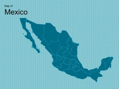 Map of Mexico Template Map of Mexico Template inside page