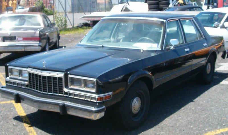 Grand Fury Plymouth 1986