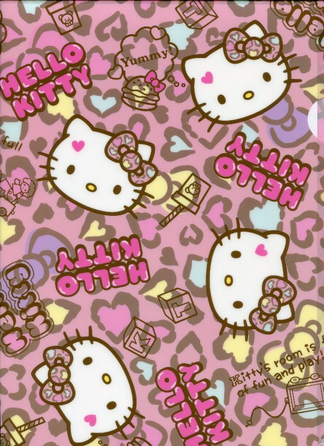 Hello Kitty Leopard Wallpaper For Iphone