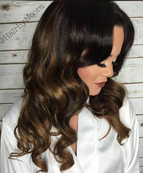 Dark Brown Hair And Light Brown Highlights
