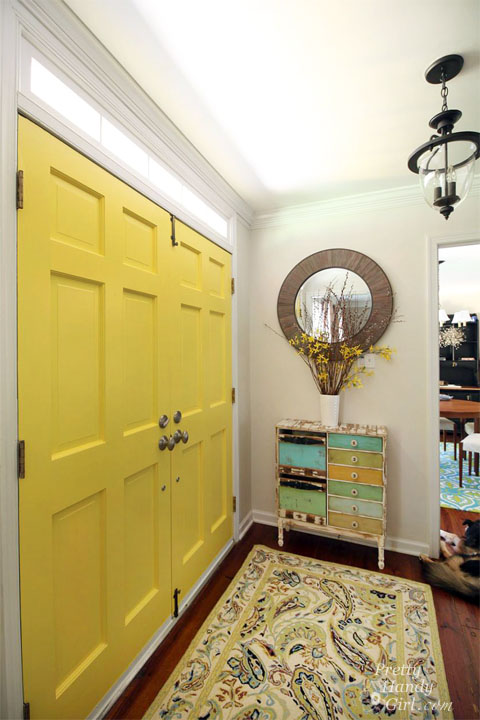 Yellow House Front Door Color