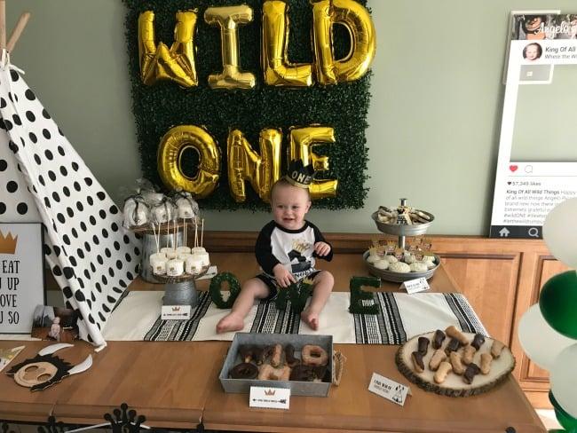 Wild One First Birthday Boy Theme