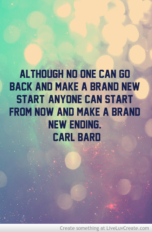 Year New Beginning Quotes