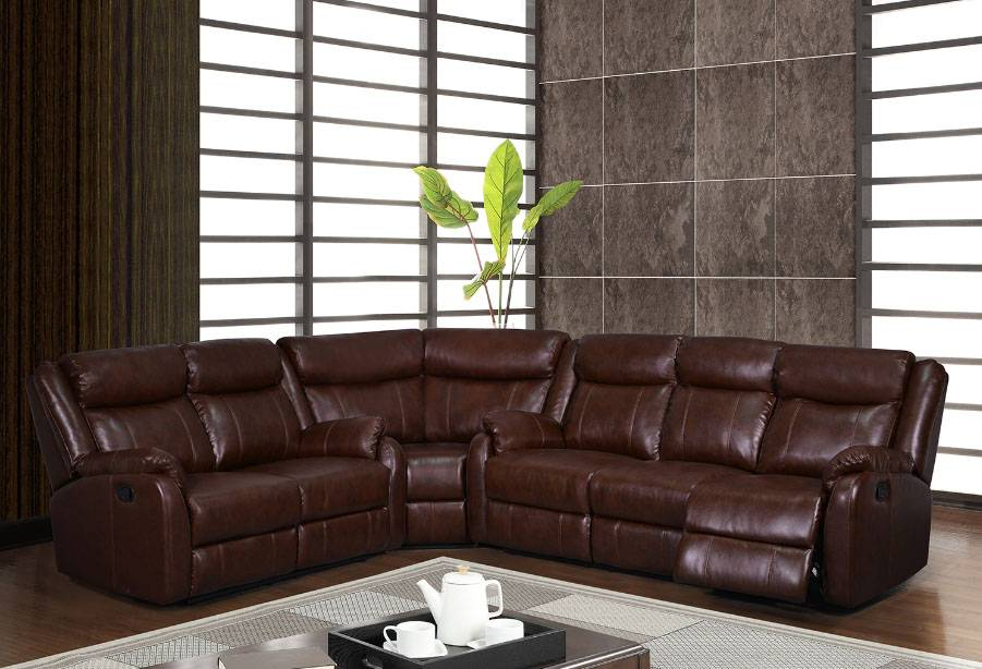 Leather Couch Sectional Recliner