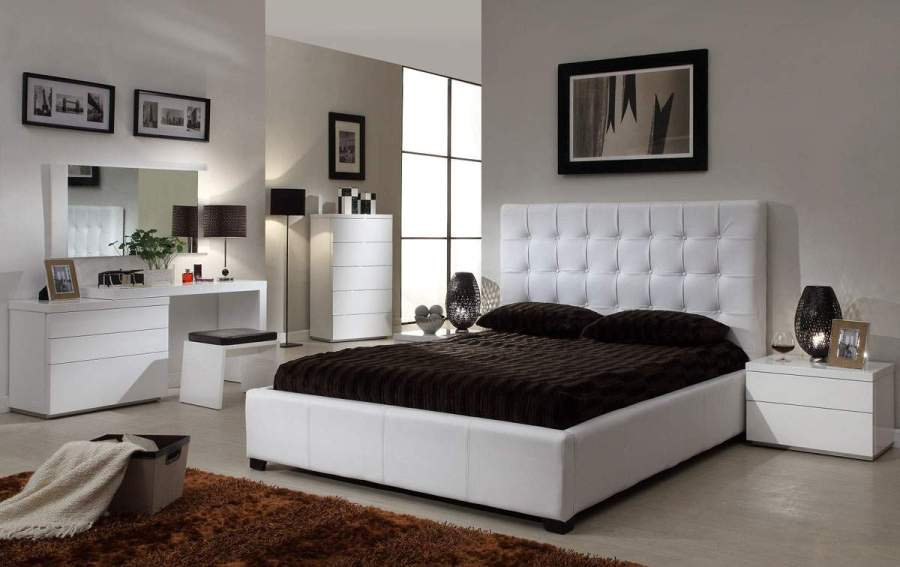 Quality Leather Designer Furniture Collection with Extra Storage     Bedroom Sets Collection  Master Bedroom Furniture