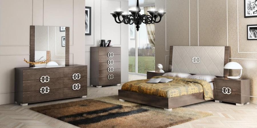 Made in Italy Elegant Leather High End Bedroom Sets San Bernardino     Bedroom Sets Collection  Master Bedroom Furniture