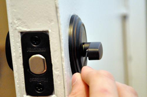 I Changed Lock My Front Door