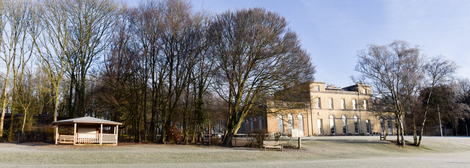 Prince's Mead School frosty grounds