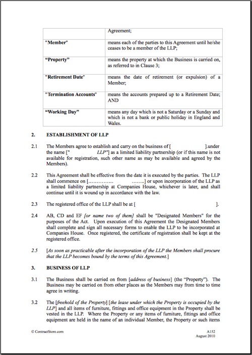 Family Limited Partnership Agreement Sample