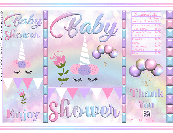 Shower Baby Gold Candy Black