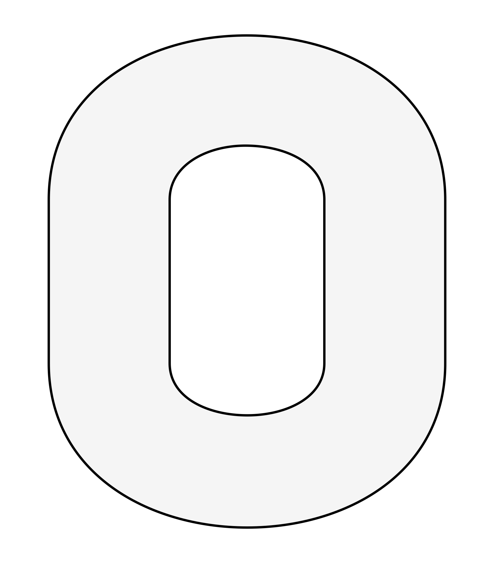 Printable Block Number Templates