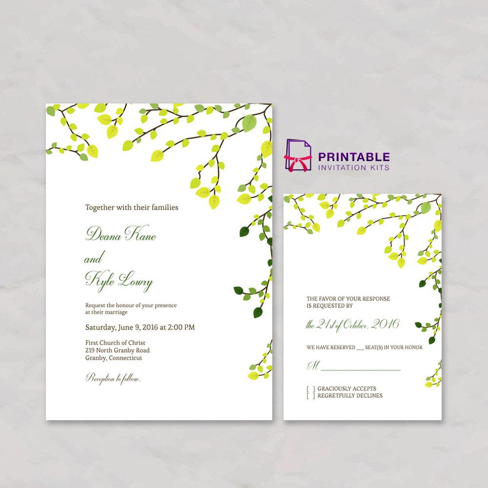 Printable Invitations Kits
