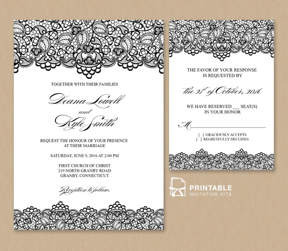 Paper Baptism Invitations