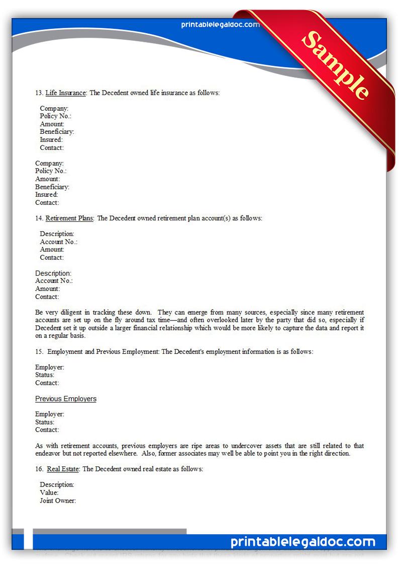 Estate Tax Return Form