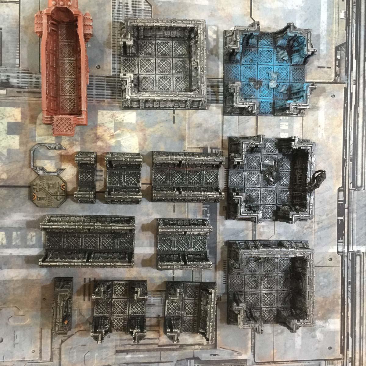 Gothic Spaceship Bundle (30Mm Tiles) Printable Scenery | Popular