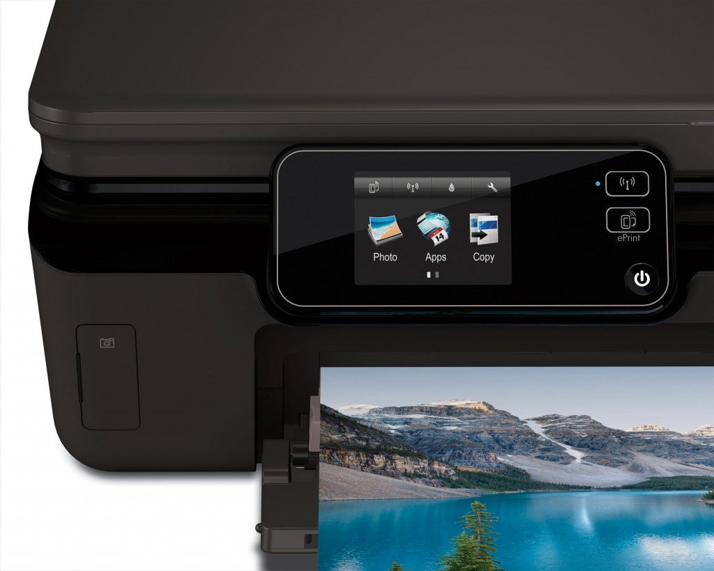 Hp Photosmart 5520 E All In One A4 Colour Multifunction