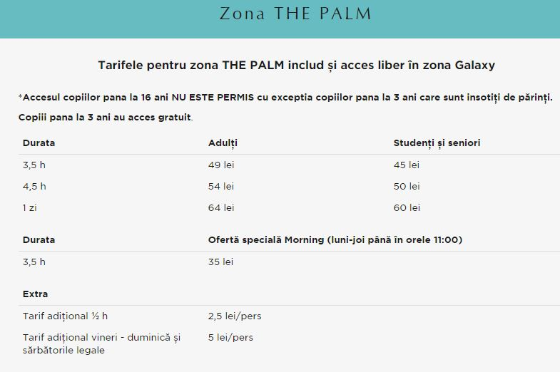 preturi therme palm adulti