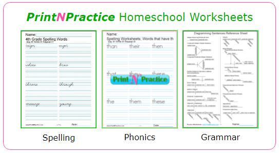 Grade First Handwriting Pages