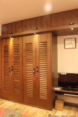 Wardrobe Design   wood finishes Interior Design  Travel  Heritage     wardrobe design nabar kaamya