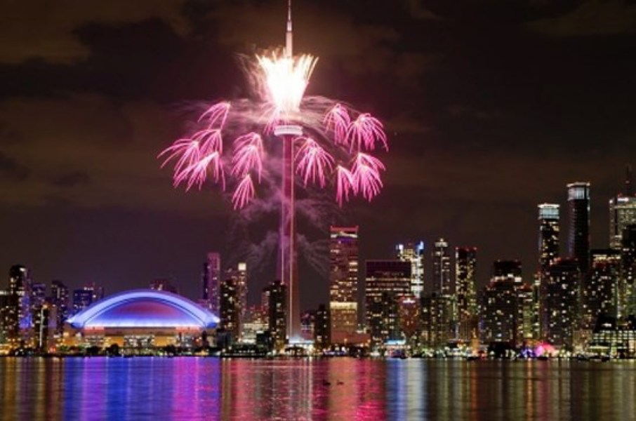 Ringing in the New Year in Canada s Terrific City of Toronto