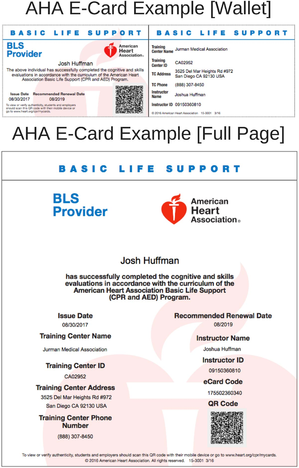 Aha Acls Certification Card Topsimages