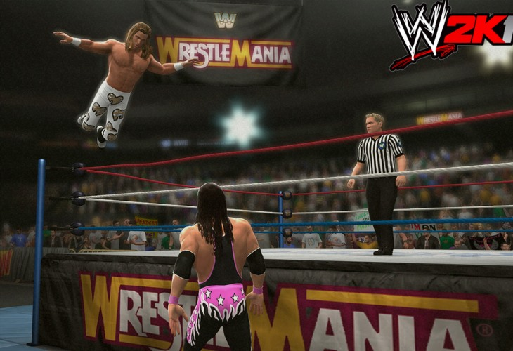 Wwe 2k14 Bret Hart Undertaker In Classic Matches
