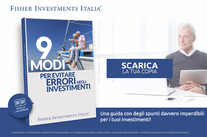 Fisher Investments - 9 importanti errori d'investimento da evitare nel 2018
