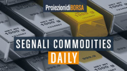 I livelli per tradare 4 commodities nel giorno 20 agosto
