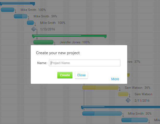 The Ultimate Guide to Gantt Charts   ProjectManager com Gantt New Project