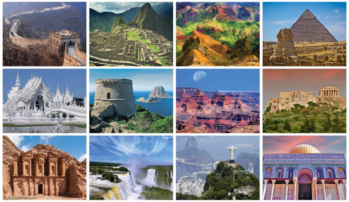 the seven wonders of the world - 1200×696