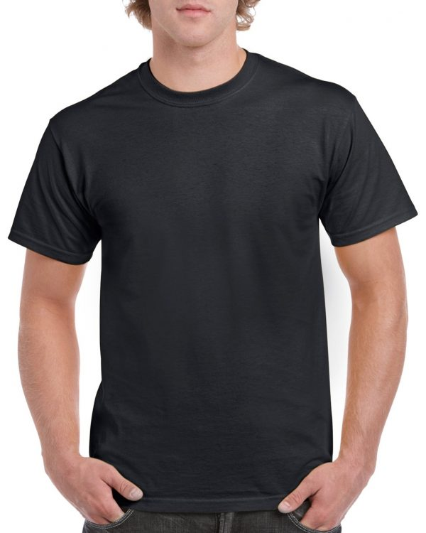 Gildan Heavy Cotton Adult T-Shirt Black Xlarge (5000) 1 | | Promotion Wear