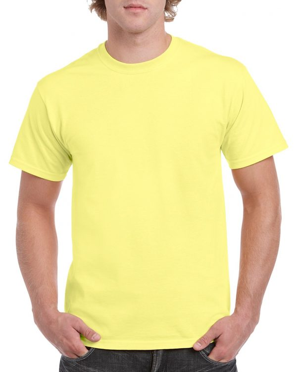 Gildan Heavy Cotton Adult T-Shirt Cornsilk 2Xlarge (5000) 1 | | Promotion Wear