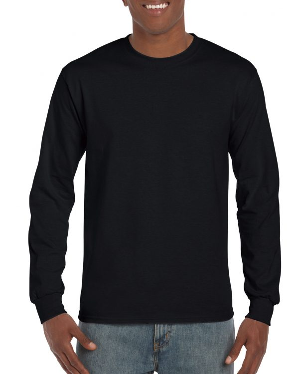 Gildan Hammer Adult Long Sleeve T-Shirt Black Small (H400) 1 | | Promotion Wear