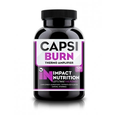 Capsi Burn Impact Nutrition Proteines Center
