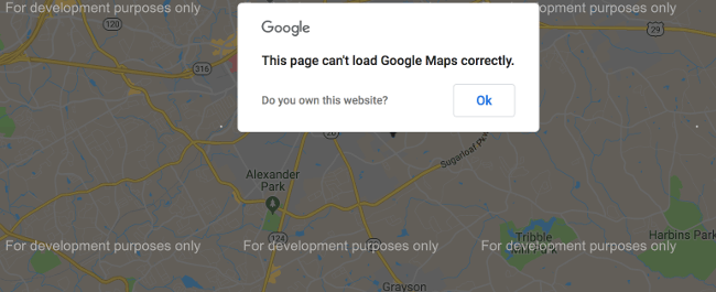 Google Maps not working      ProteusThemes Google Maps API change 2018