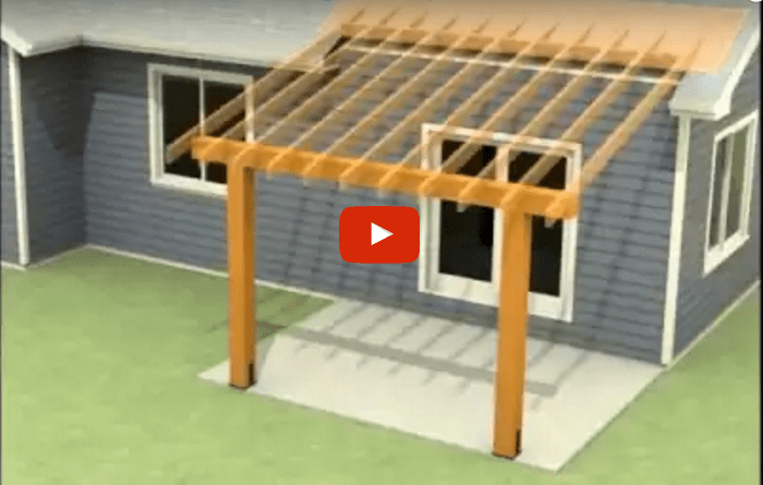 Flat Roof Building Drain Pipe