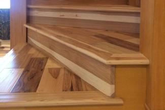 Stair Trim Out 5 —Installing Treads And Risers Thehardway | Hardwood Stair Treads And Risers | Stained | Maple | Hickory | Red Oak | New