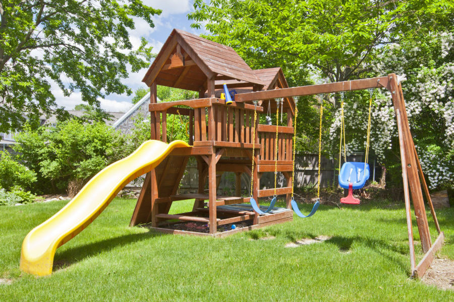 Swing/Play Set Removal with PWI