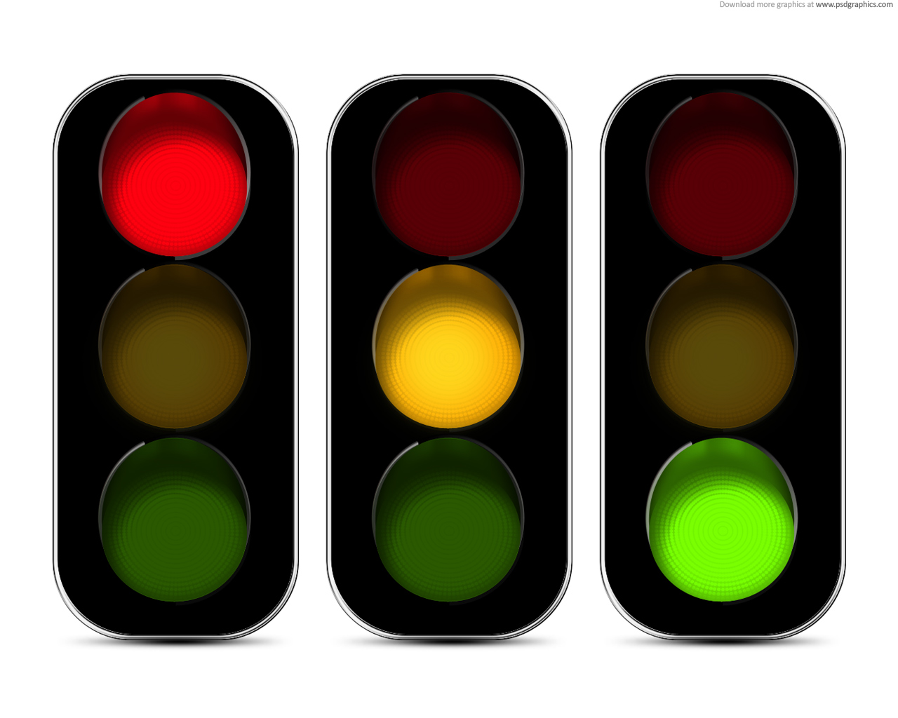 Stop Light Tracking Template