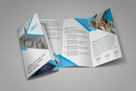 65  Print Ready Brochure Templates Free PSD InDesign   AI Download     Free Tri Fold Brochure Template