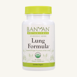 Lung Formula tablets by Banyan Botanicals