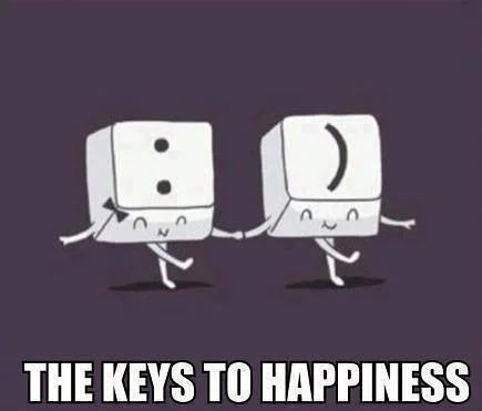 The Keys to Happiness :)