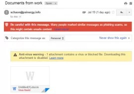 Tricky Viruses in Spoofed Emails are on the Rise! Be Aware.