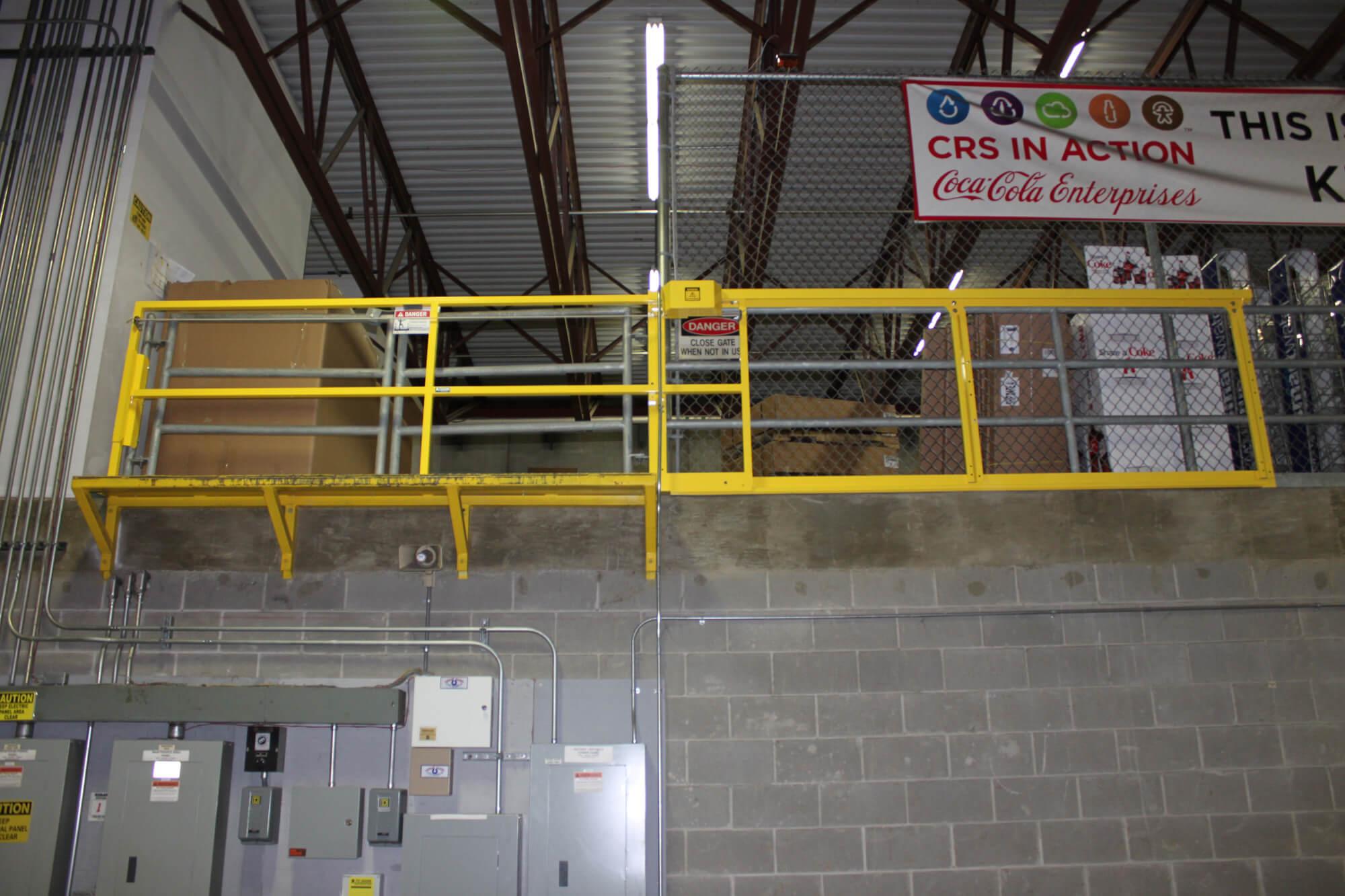 Safemezz 174 Horizontal Gate Ps Safety Access