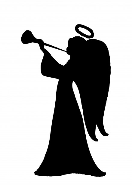 Angel Silhouette Clipart Free Stock Photo - Public Domain ...