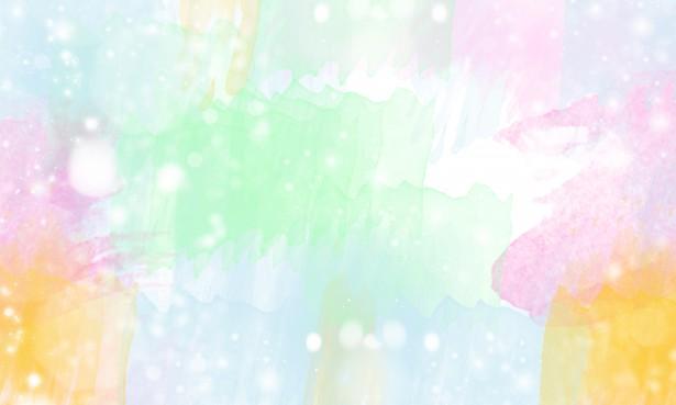 Watercolor Bokeh Pastel Background Free Stock Photo