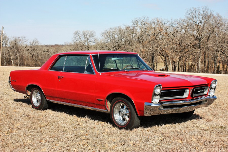 1965 pontiac cars » 1965 Red GTO Free Stock Photo   Public Domain Pictures 1965 Red GTO