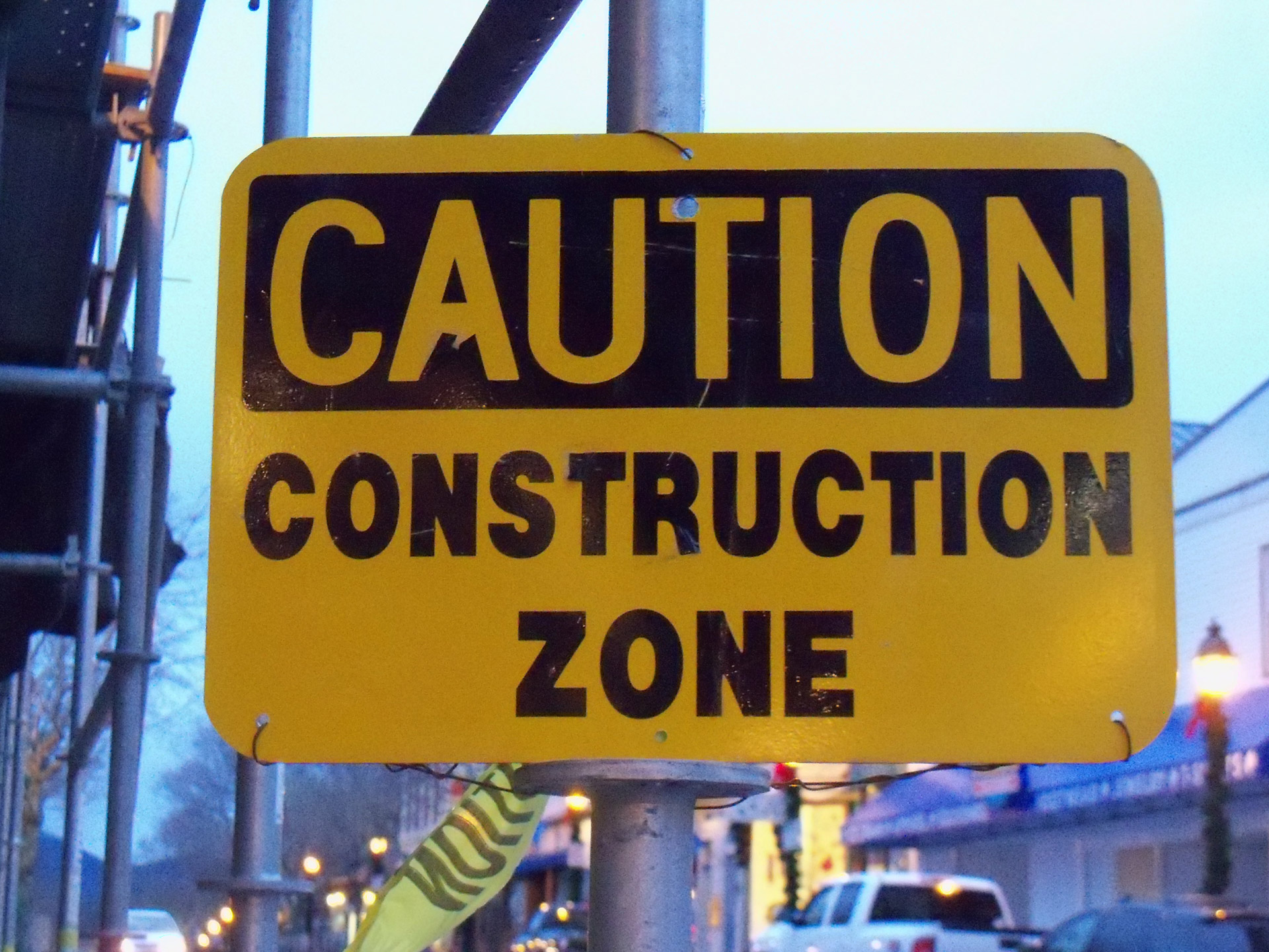 Construction Zone Free Stock Photo Public Domain Pictures