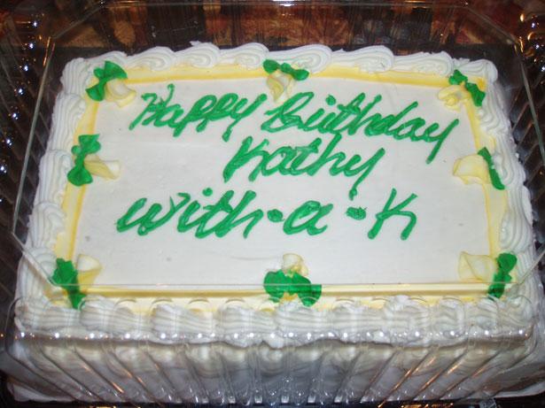 Frosted Birthday Cake Error Free Stock Photo Public